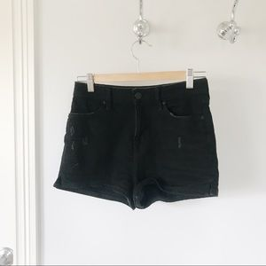 High waisted BDG jean shorts